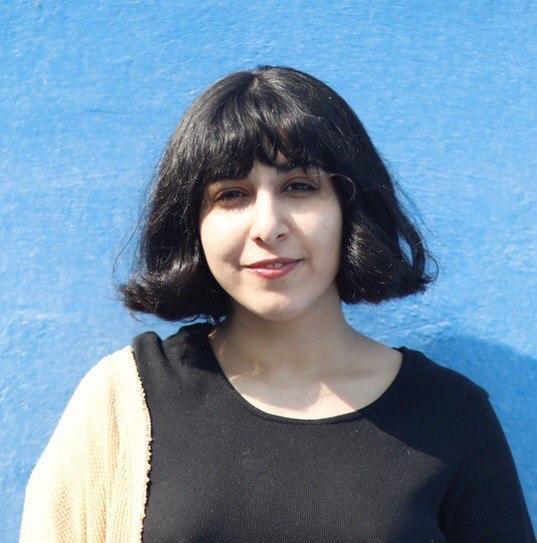Portrait of the artist Maryam Katan